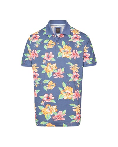 Poloshirt im Casual Look floral