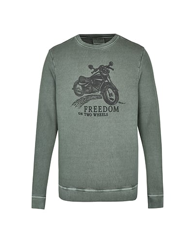 Sweater, Cafe Racer